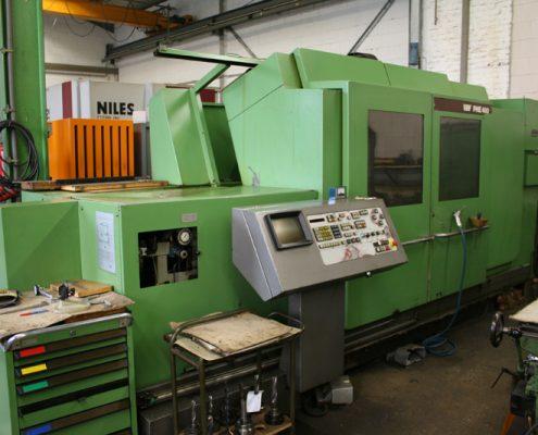 Boehringer Maschine grün Bedienpult Display Container Luftdruckpistole