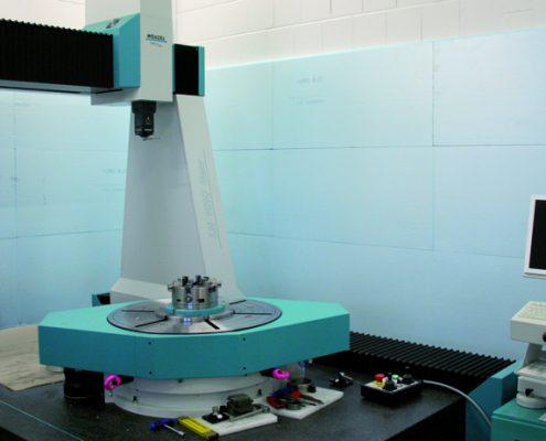 Zahnradmessmaschine Wenzel Marmorfundament Laserabtastung 1/000 mm µm Renishaw Renscan SP90 technology