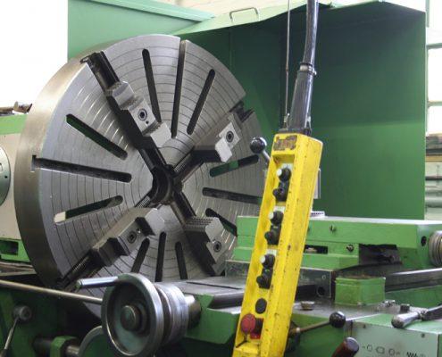 Wemag 1000 Drehmaschine mm leer Durchmesser